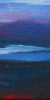 foreground detail - sunset painting