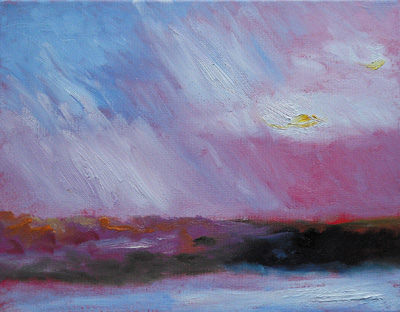Vivid Pink Sunrise – 11 Jan 2011