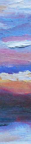 Sunrise painting - detail - 14 jan 2011