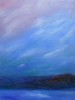 Flurries Near Dusk – 7 Jan 2011