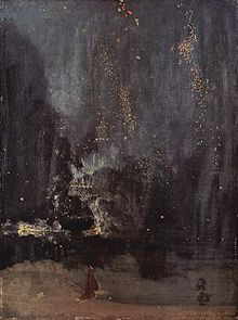 Whistler's 'Nocturne in Black and Gold'