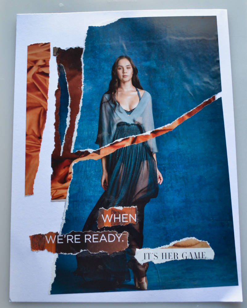 When We're Ready – Torn Paper Collage