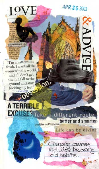 A Different Route – Collage and How-To Tips