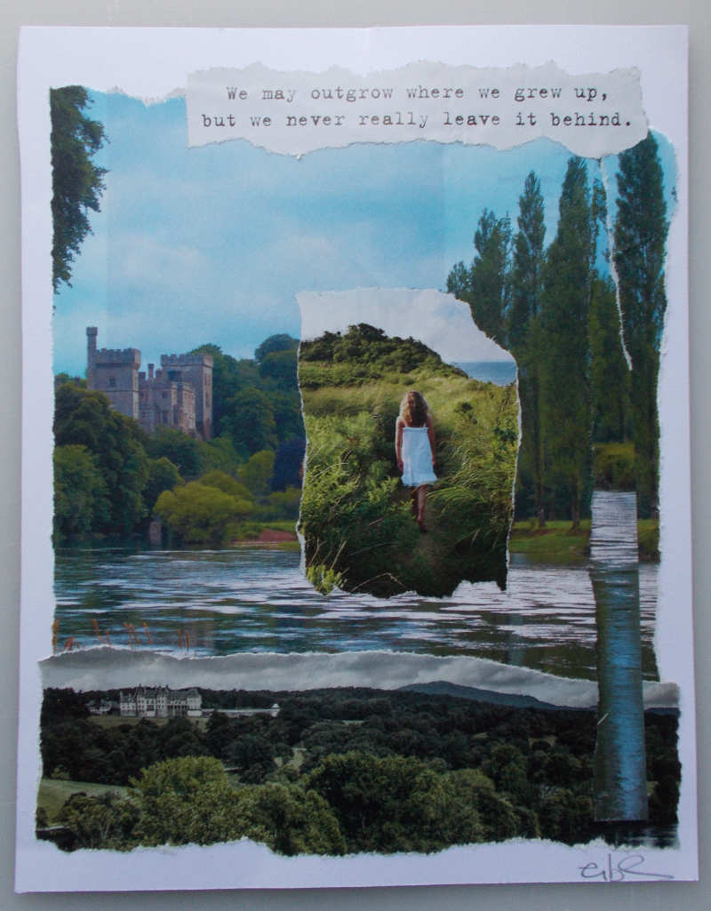 Where We Grew Up – Collage About Our Roots