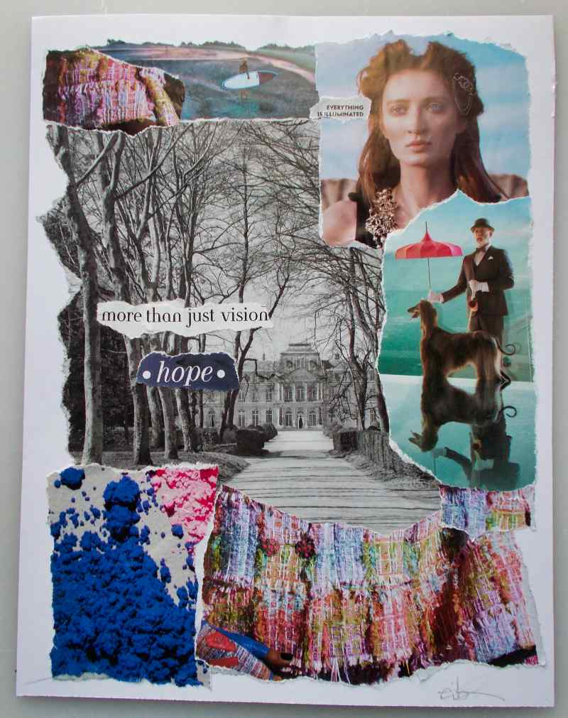 More Than Just Vision – Hope, A Collage