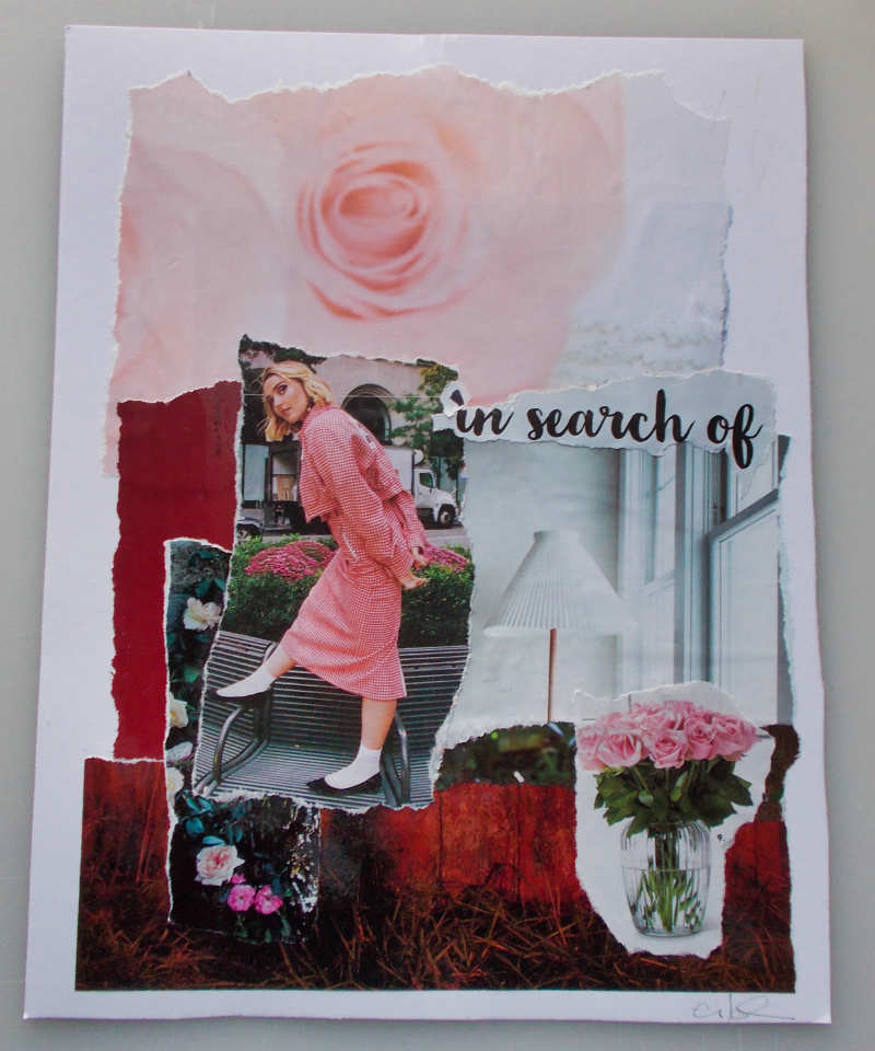 In Search Of – A Whimsical Collage
