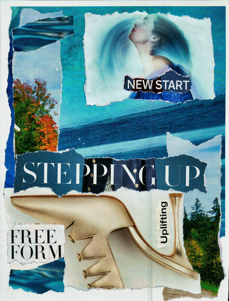 A New Start – Art Journaling Collage