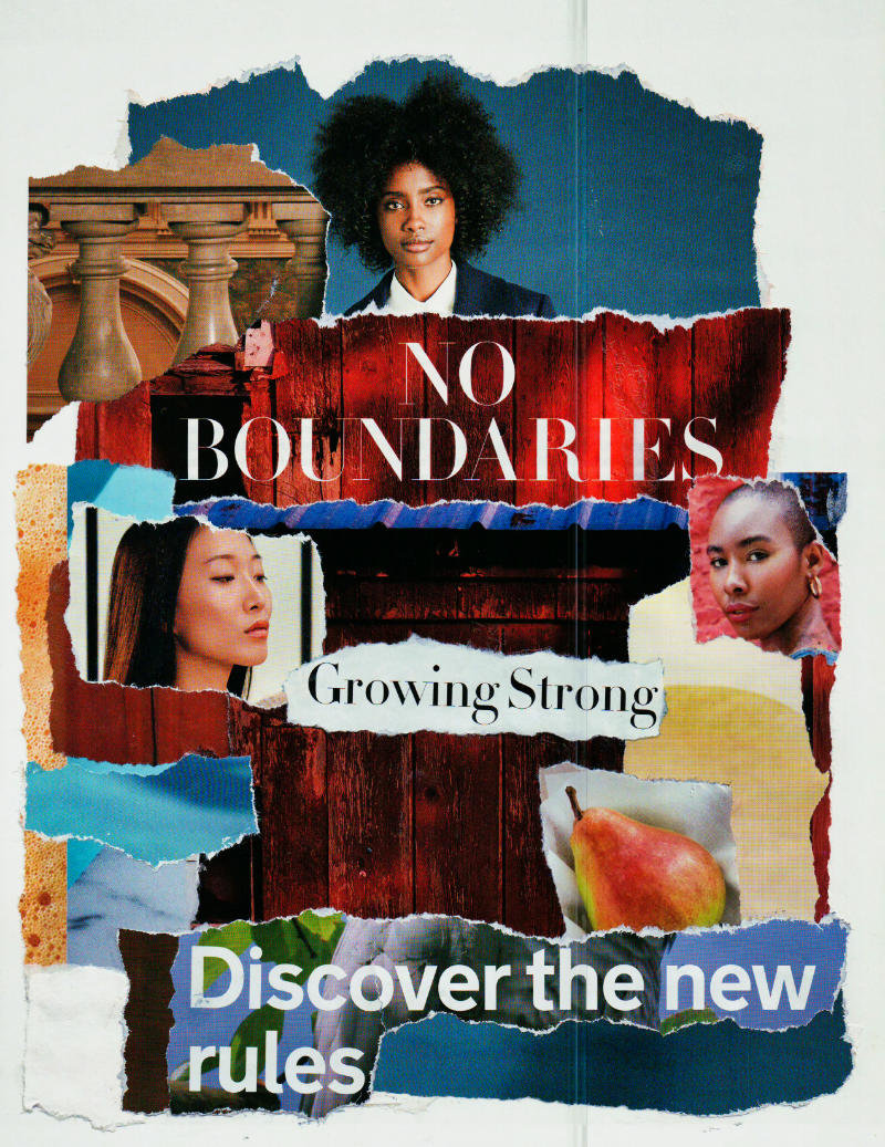 No Boundaries – Collage About Increasing Confidence