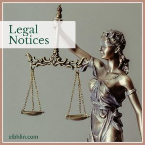 Legal notices - terms of use
